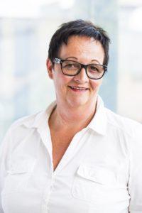 Portrait der Sekretärin Gabriele Posch © Pilz+Rath